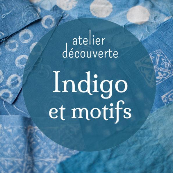 Atelier indigo et motifs