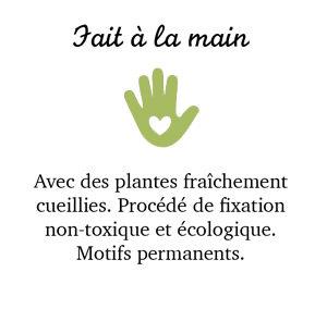 Fait à la main.